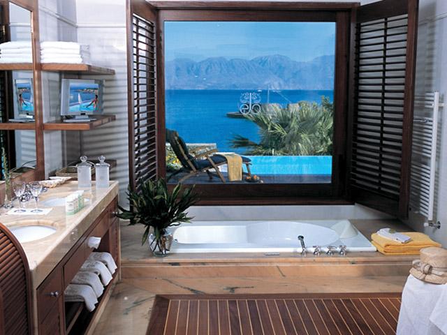 Elounda Beach Exclusive  & Platinum Club: Elounda Beach Exclusive Club  Island Villas Bathroom