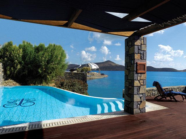 Elounda Beach Exclusive  & Platinum Club: Elounda Beach Exclusive Club  Presidential Suites Pool Area