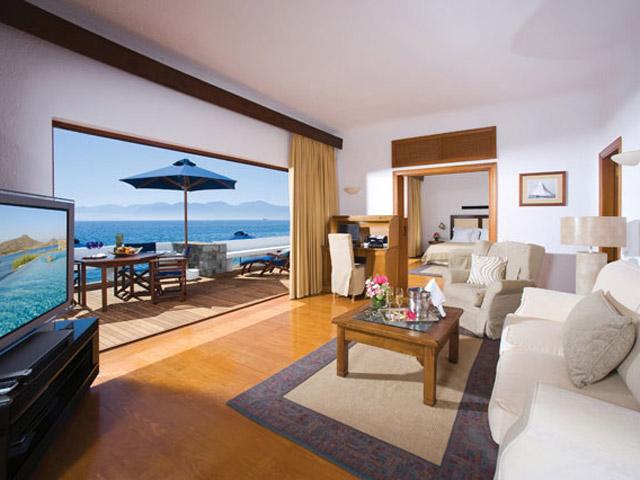 Elounda Beach Exclusive  & Platinum Club: Elounda Beach Exclusive Club  Presidential Suites Living Room