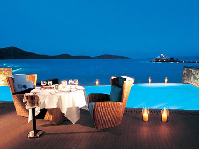Elounda Beach Exclusive  & Platinum Club: Elounda Beach Exclusive Club  Presidential Suites Dining Area