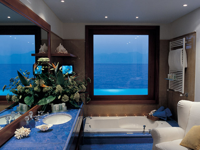 Elounda Beach Exclusive  & Platinum Club: Elounda Beach Exclusive Club  Presidential Suites Bathroom