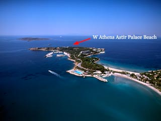 W Athens Astir Palace Beach: Panoramic View