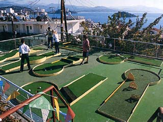 John and George Hotel: Golf