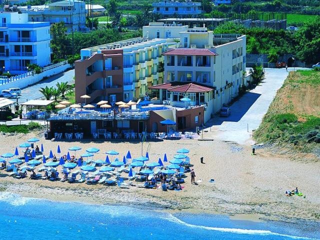 Kreta Rethymnon Hotel Dedalos Beach