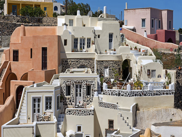 Heliophos boutique hotel hotel oia santorini cyclades for Boutique hotels greece
