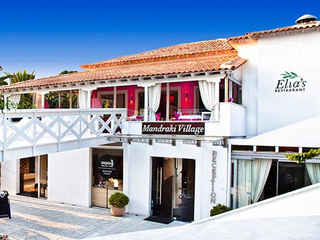 Mandraki village hotel luxury hotels resorts in for Best hotels in skiathos