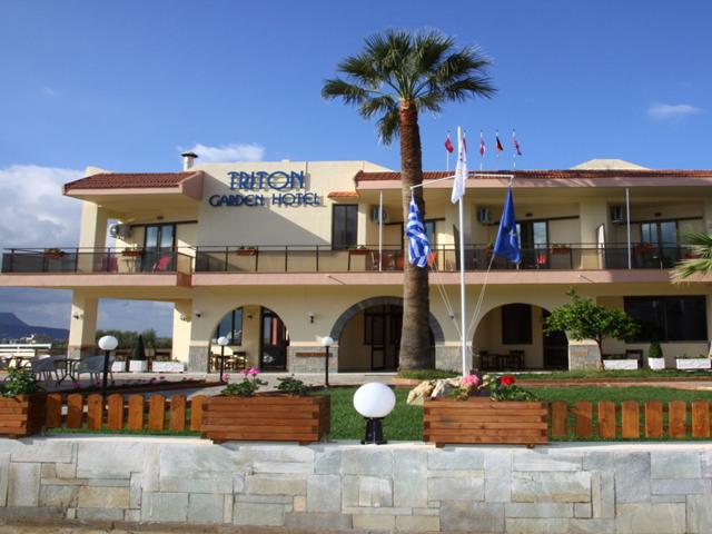 Triton gardens hotels malia heraklion crete greece for Blue sea motor inn