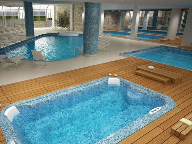 Thraki Palace HotelInterior Pool