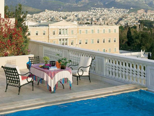 King George PalaceRoyal Pethouse Suite Balcony