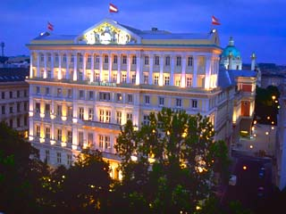 Imperial Vienna HotelExterior View at Night