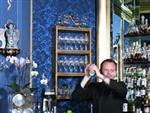 Blaue Bar