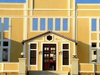 Nissia Traditional Residences: Hotel Entrance