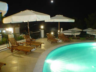 Magic HotelSwimming Pool at Night