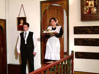 Glorious Peleys Castle HotelRoom Service