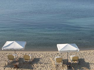 Agionissi Resort: Beach