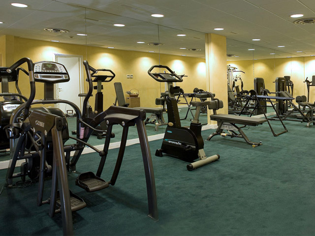 Royal Olympic Hotel: Fitness Room