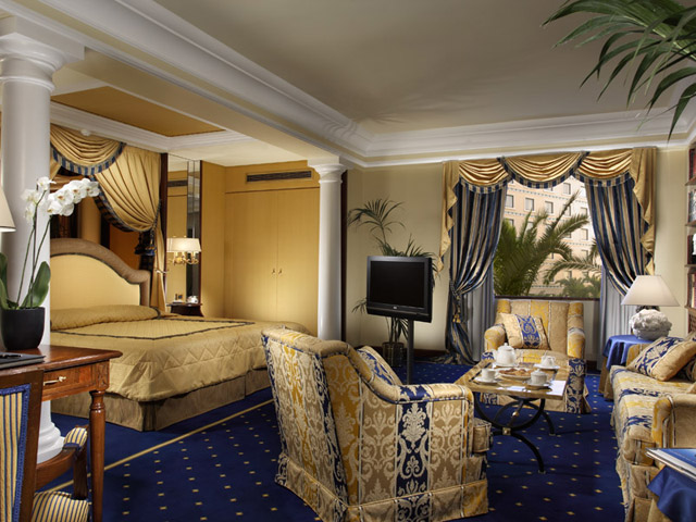Royal Olympic HotelLiving Room & Bedroom
