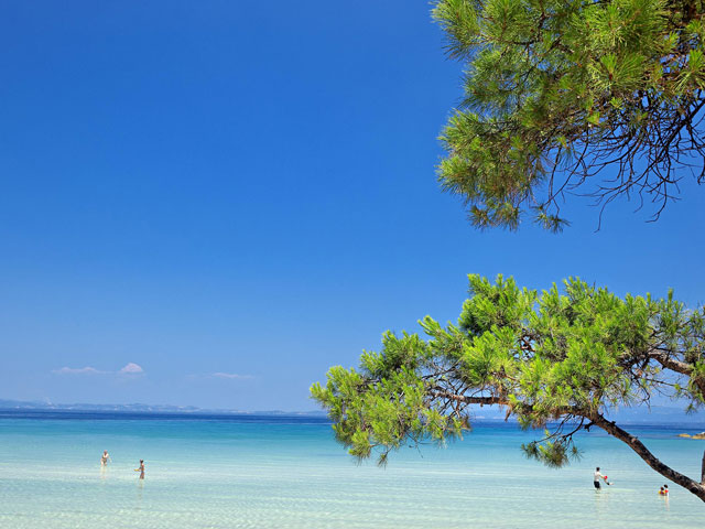 Ekies All Senses Resort: Exterior View Beach Area