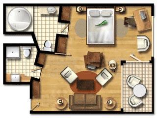 Londa BeachSea View Suite Plan