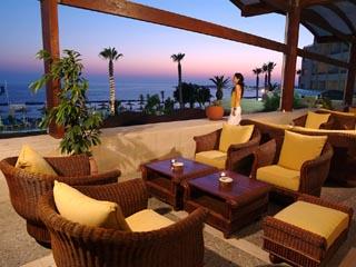 Alexander The Great Beach HotelVeranda