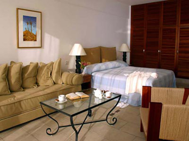 Azia Resort & Spa - Living Room And Bedroom