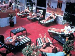 Palm Beach HotelTerrace