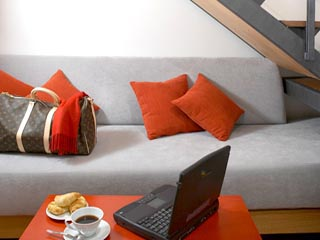 Twentyone HotelLoft Living Room