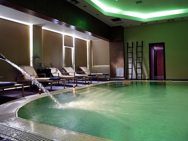 Olympia Golden Beach: Indoor swimming pool