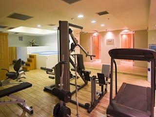 Airotel Stratos Vassilikos Hotel: Gym