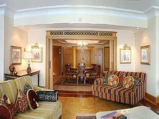 Ciragan Palace Hotel KempinskiPasha & Presidential Suite Living Room