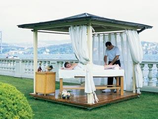 Ciragan Palace Hotel KempinskiOutside Massage Tent