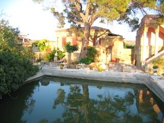 Mavrokordatiko Guest House: Courtyard