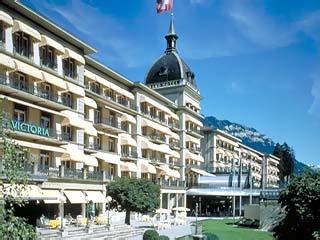 Victoria Jungfrau Grand Hotel Spa Exterior View