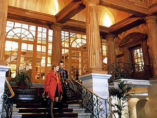 Kulm Hotel St. MoritzStairs