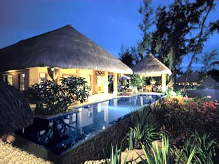 The Oberoi MauritiusExterior View at night