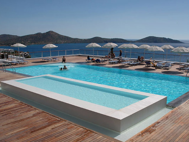 Elounda Ilion Hotel & Bungalows - Elounda Ilion Exterior View Pool Area