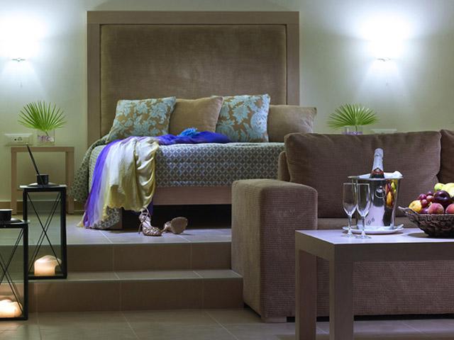 Elounda Ilion Hotel & BungalowsElounda Ilion Living Room