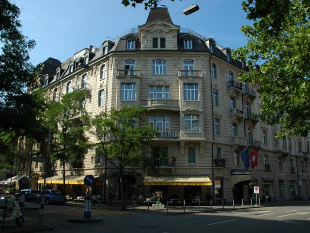Ambassador Hotel Zurich - Exterior View