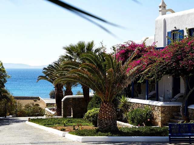 San Marco Hotel Mykonos, 5 Etoiles hôtel de luxe, villa à Houlakas ...