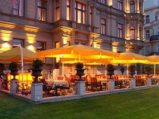 Le Palais PragueSummer Terrace Night