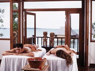Bora Bora Lagoon ResortMassage