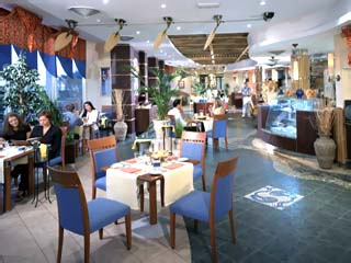Hilton International Abu Dhabi: Vascos Restaurant