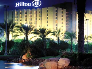 Hilton International Abu DhabiExterior View at night