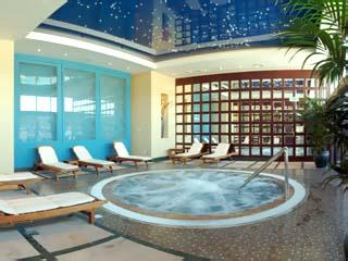 Hilton International Abu Dhabi: Spa - Jaccuzzi