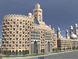 Al Hamra Palace Beach ResortExterior View