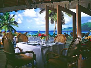Little Dix BayThe Pavilion Restaurant