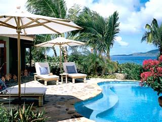 Little Dix BayVilla Patio & Pool
