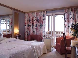 Des Trois Vallees HotelRoom