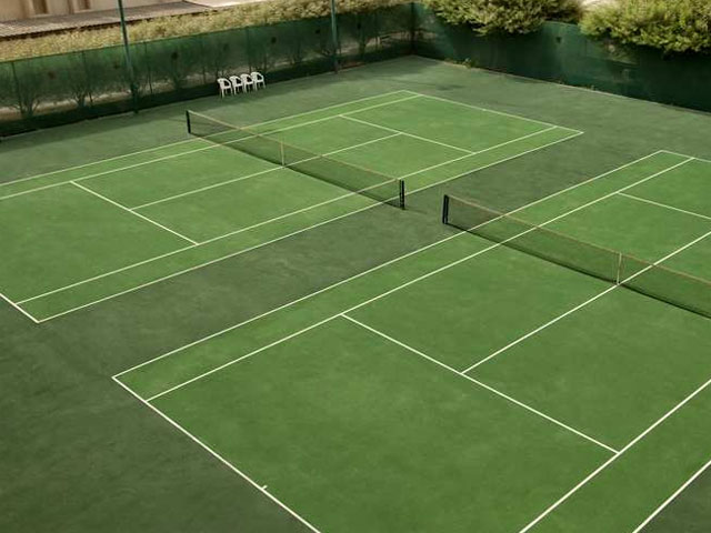 Hilton Ras Al Khaimah Hotel - Tennis Area
