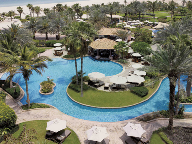 The Ritz Carlton Dubai - Exterior View Pool Area